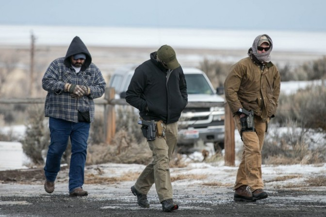 FBI Caught Posing As Militia @ Harney County Armory
