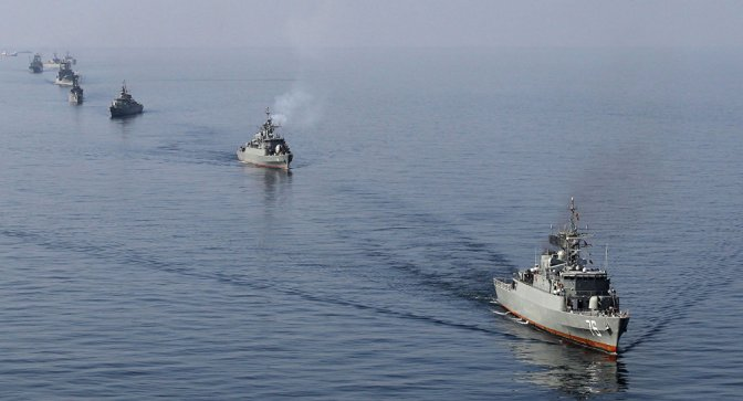 Iran Repels USS Monterey (CG 61) off Hormuz Strait