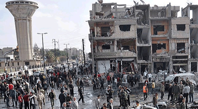 Daesh Terrorists Sent Suicide Bombers to Damascus After Heavy Casualties