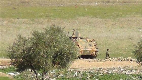 Turkey Army Troops Enter Syria's Aleppo Province2
