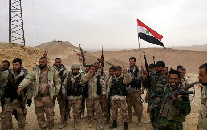 Palmyra is liberated from Daesh