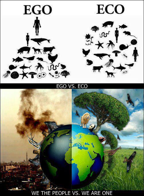 EGO vs. ECO - We the people vs we are ONE