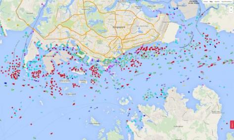 The Global Energy Reset is On Singapore-ships_0
