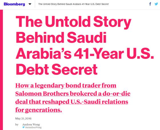 blooberg saudi petrodollar expose