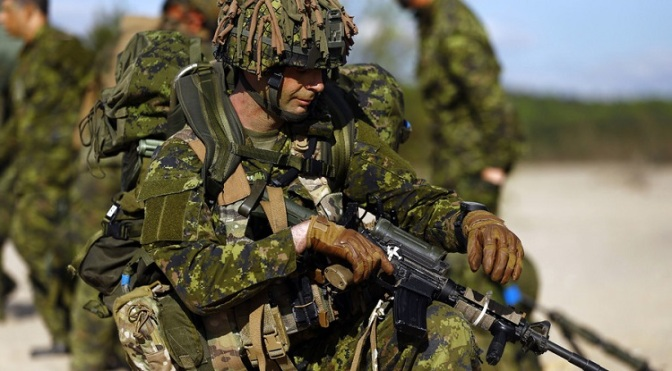 NATO Exercises Proven WW3 Provocation, Still Canada Sends 1,000 Troops to Russian Border