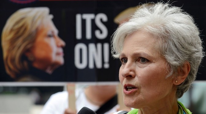 'Forget the lesser evil, fight for greater good' | Jill Stein