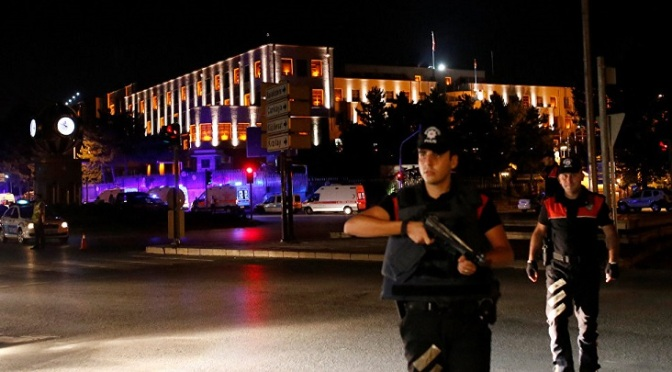 UPDATES : Turkey in Chaos After Coup Attempt Turkey-coup