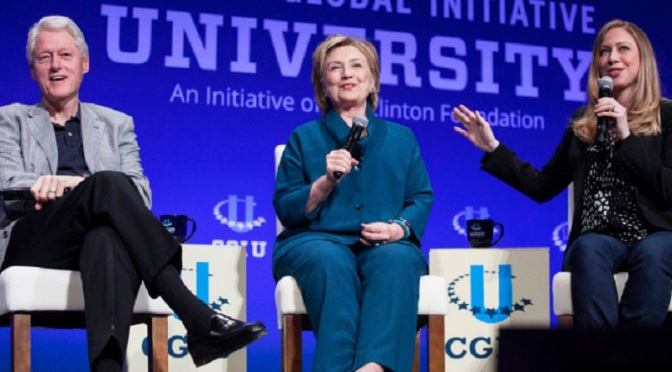 House Hearing on Criminal Clinton Foundation Sought