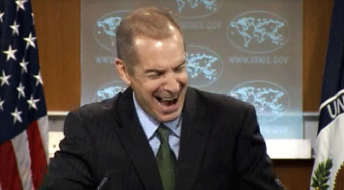 Dear Americans, they are still laughing at you… Mark-toner
