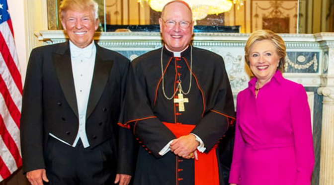 Rigged Election: Hillary & Trump Caught Partying w/ Kissinger @ Jesuit Gala