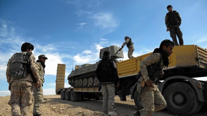 Pentagon Commandos Fighting vs. CIA Daesh Terrorists in Syria