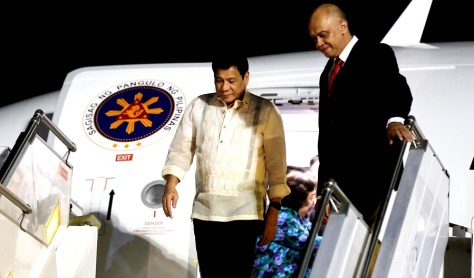 The Ongoing Philippine Revolution is Catching Fire Duterte-arrives-at-halim-perdanakusuma-airport-in-jakarta
