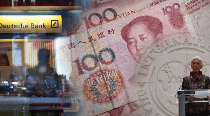 Western Banks Crumble while Yuan Joins the IMF SDR Basket
