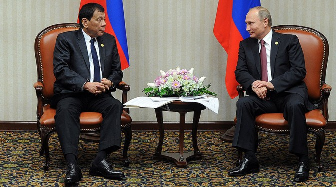 West Starts War They're Scared to Fight Themselves | Duterte to Putin APEC 2016