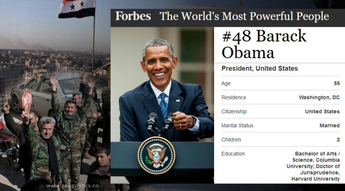 "Obama Drops from 3rd to 48th in Forbes' ""Most Powerful People"" List"