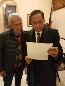 "Foreign Affairs Sec. Perfecto ""Jun"" Yasay"