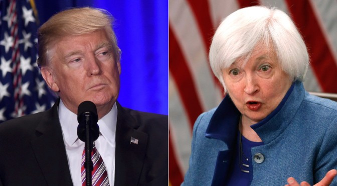 Showdown Looming Between Donald Trump & US Private Central Bank