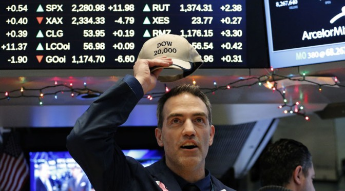 Dow Jones Industrial Average Hits 20,000 for First Time Ever!