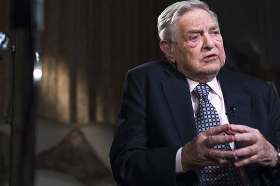 George Soros Photographer: Jason Alden/Bloomberg