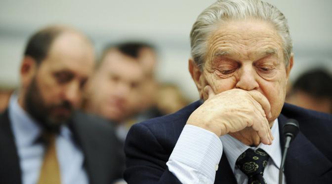 George Soros' World is Falling Apart, Blames Everyone but Himself