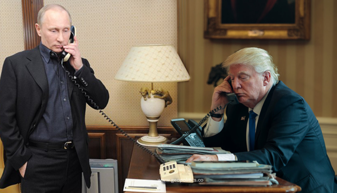 Putin's Telephone Conversation with US President Donald Trump