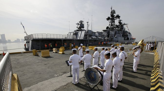 Russian Navy Visit Helps Manila Diversify Alliances After US Policy Disappoints