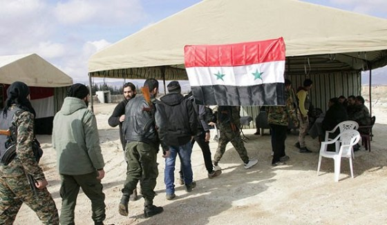 syrian-militants-surrender-for-amnesty