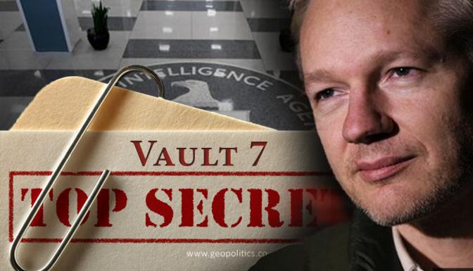 #Vault7: Wikileaks Drops New Bombshell vs. Deep State