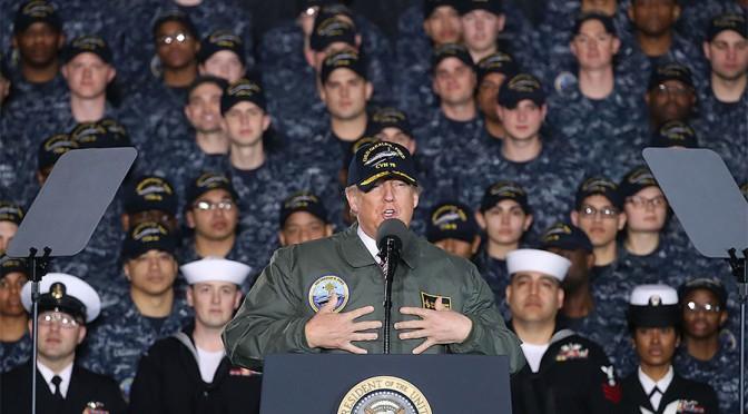 """America First""… Through A War Economy?"