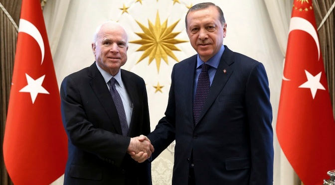 Syria's Water Cut Off By Turkey Following McCain, Erdogan Meeting