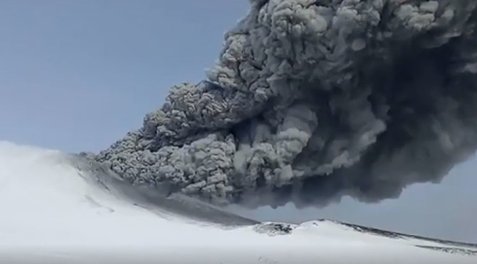 US Deep State Rewards Evil Russia with More Sanctions & Ash-spewing Volcano?