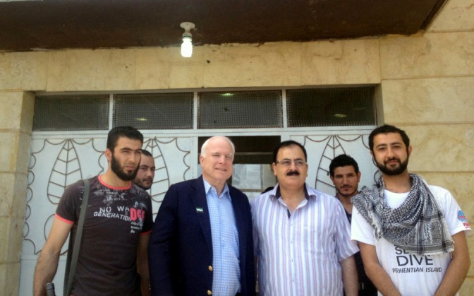 John McCain Confirms ISIS False Flag Chemical Attack on Syria