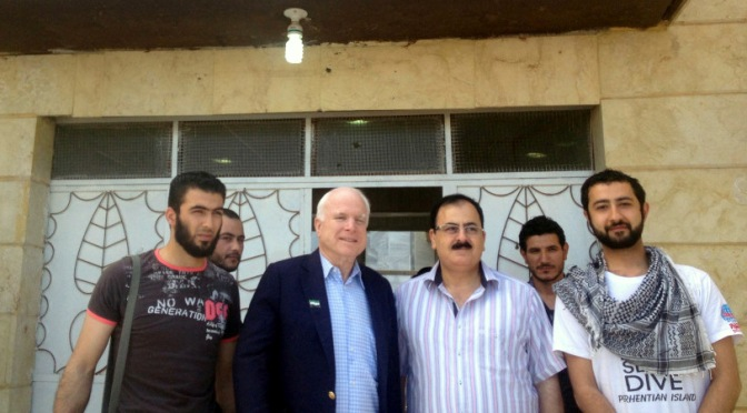 John McCain Confirms ISIS False Flag Chemical Attack on Syria