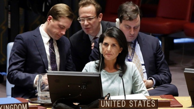 Nikki Haley: Trump's Disaster UN Ambassador