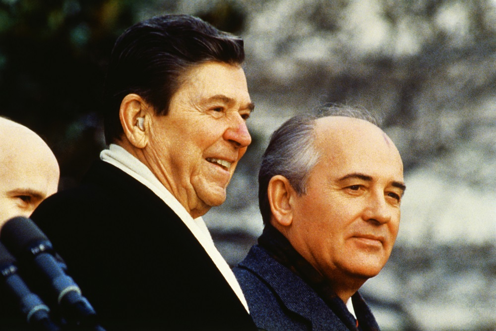 mikhail gorbachev relationship with reagan