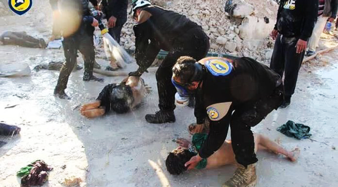 Poorly Executed Chemical Attack False Flag Hits Syria Again