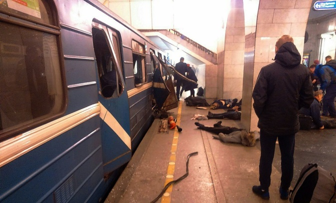 St. Petersburg Blast was Preceded by Preemptive Raids on Terror Cells