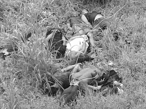 Marawi civilians shot and killed by Maute terrorists for failing to pass the Muslim prayer test.