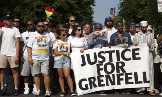 Where are the survivors of the Grenfell Tower Fire?