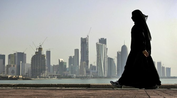 Why Qatar is thrown out from Middle East Terror, Inc.?