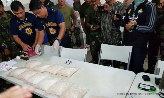Eleven kilos of methamphetamine or shabu with an estimated street value of up to P250 million (over $5 million), drug paraphernalia, and high-powered firearms were seized by the military in a house it believed to be a Maute group stronghold, officials said.