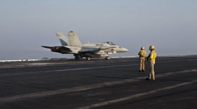 ISIS Air Force Downs Syrian Warplane in Raqqa, Iran Fires Ballistic Missiles vs. Daesh