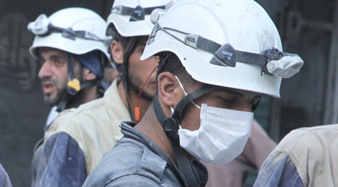 UK Funded, Oscar Awarded White Helmets are Beheaders, too! [Graphic Video]