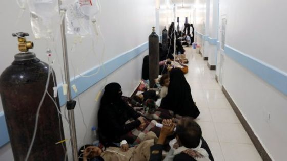 Cholera outbreak in Yemen (Source: EPA)