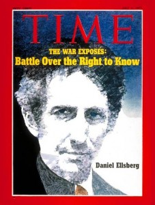 Daniel Ellsberg on the cover of Time after leaking the Pentagon Papers