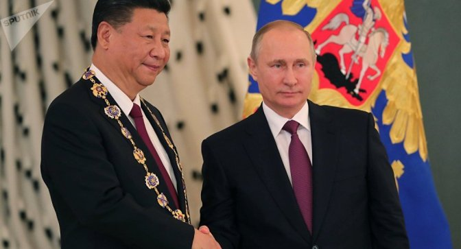 Russia China Build Up A New Economic Geography