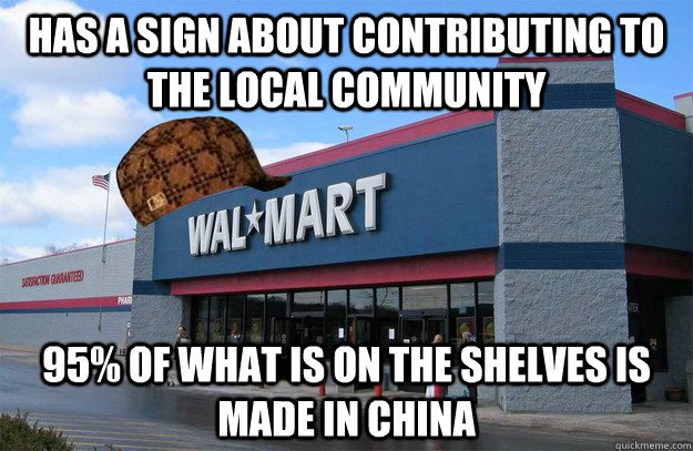 """advantages and disadvantages of walmart in china Walmart and carrefour in china  5-1-2011 """"global scope [in 2015] will be a necessity, not an option to grow the top line and bolster the bottom line."""