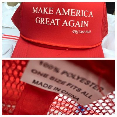 Image: Make America Great Again: Made in China