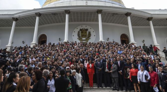 Venezuela's Constituent Assembly Inaugurated | Stephen Lendman
