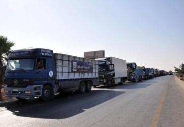 aid convoy deir ezzor